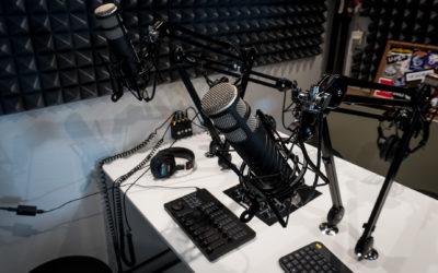 Ta en titt på nya studion