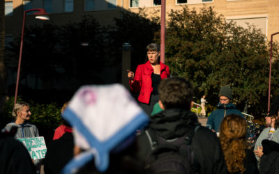 Klimatstrejk på Campus