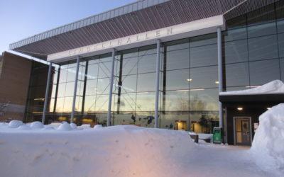 Bottenplacering för Umeå Universitet